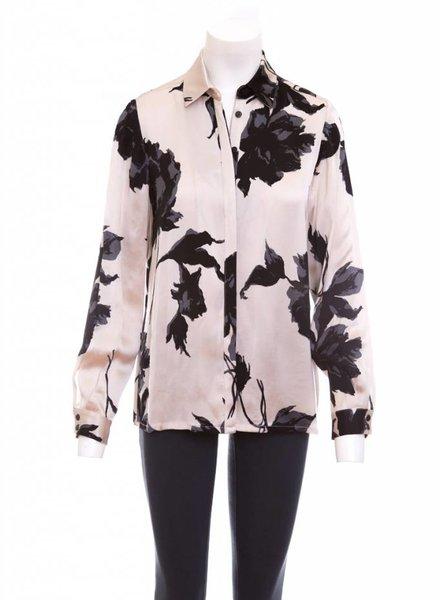 ISABEL DE PEDRO Floral Print Straight Shirt