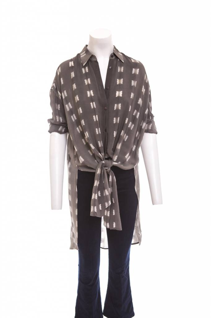 Laura Siegel Button Front Tunic