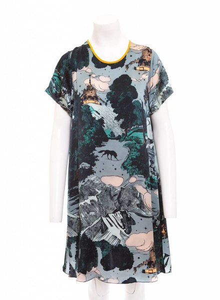 Klements Frieda Silk Shift Dress