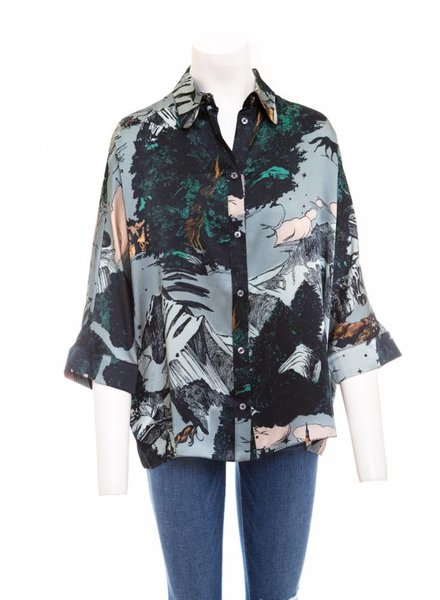 Klements Escapist Satin Shirt