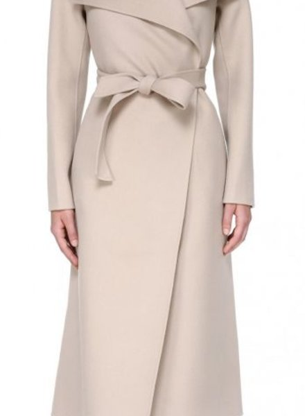 Mackage Mai Long Wool Belted Coat