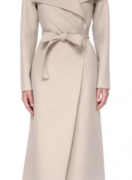 Mackage Mai Long Wool Belted Coat