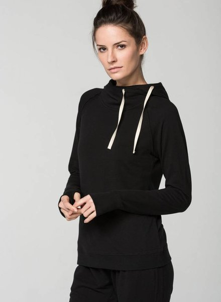SUNDAYS The Taj Raw Edge Raglan Hoodie