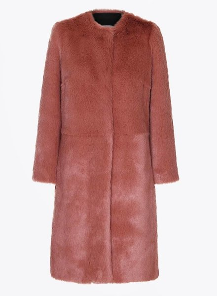 Day Furry Dress Coat