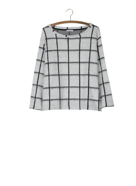 FRINGOMANIA Window Pane Sweater