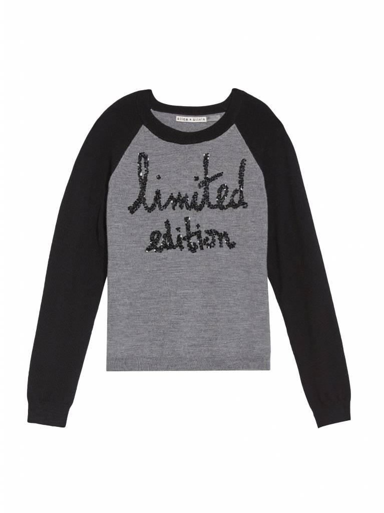 ALICE & OLIVIA Gretta Limited Edition Pullover