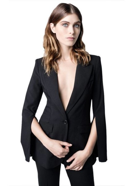 SMYTHE Zip Sleeve Blazer