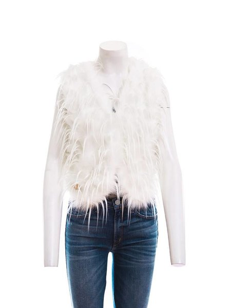 FURIOUS FURS FF SPIKY WHITEY VEST