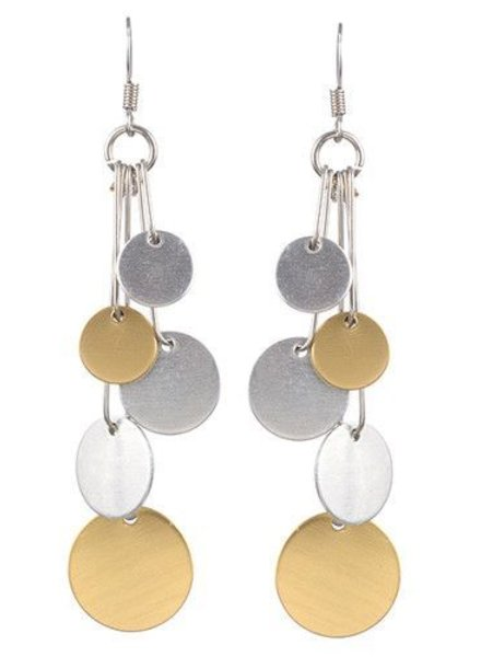 Jillery 5 DOT STICK EARRINGS