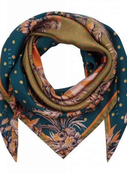 Klements Medium Silk Scarf