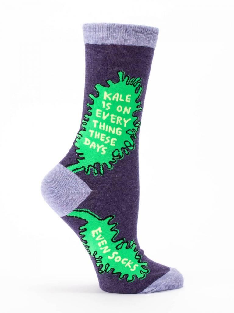 BLUE Q BQ Kale Crew Socks O/S