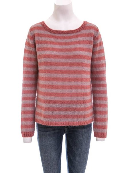 Day Crewneck Striped Sweater