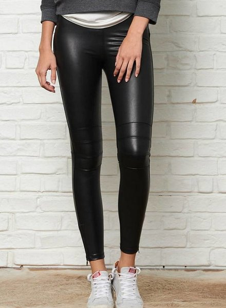 DAVID LERNER Moto Legging w/ Back Zip