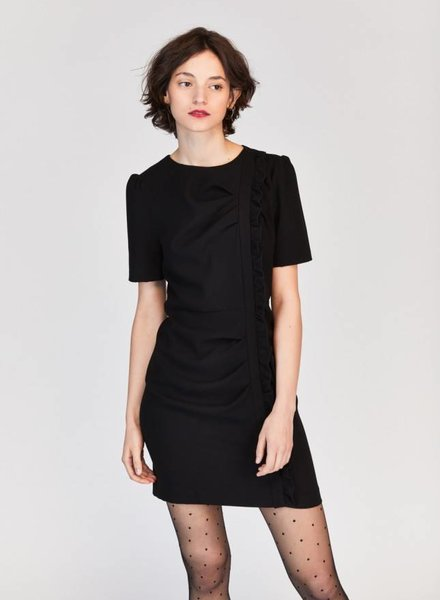 Tara Jarmon Shift Dress with Front Details
