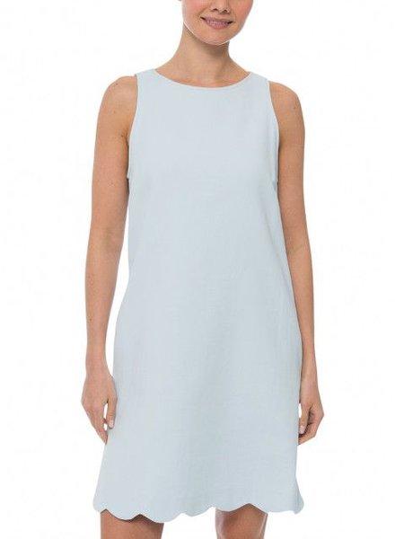 Tara Jarmon BLUE SHIFT DRESS