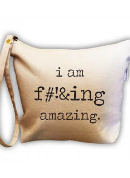 RETROSPECT I AM AMAZING MAKE UP BAG