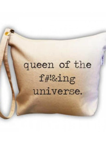 RETROSPECT QUEEN OF THE UNIVERSE MAKE UP BAG