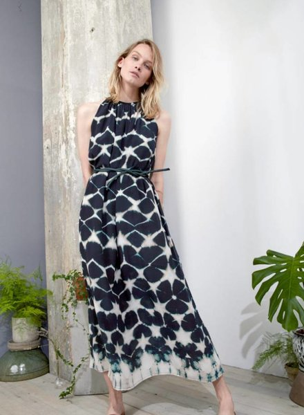 Laura Siegel CLAMP-DYE MAXI DRESS