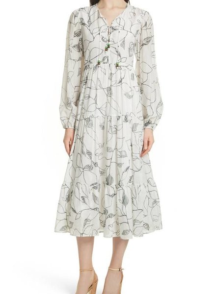 ELIZABETH & JAMES GWENDOLYN PEASANT DRESS