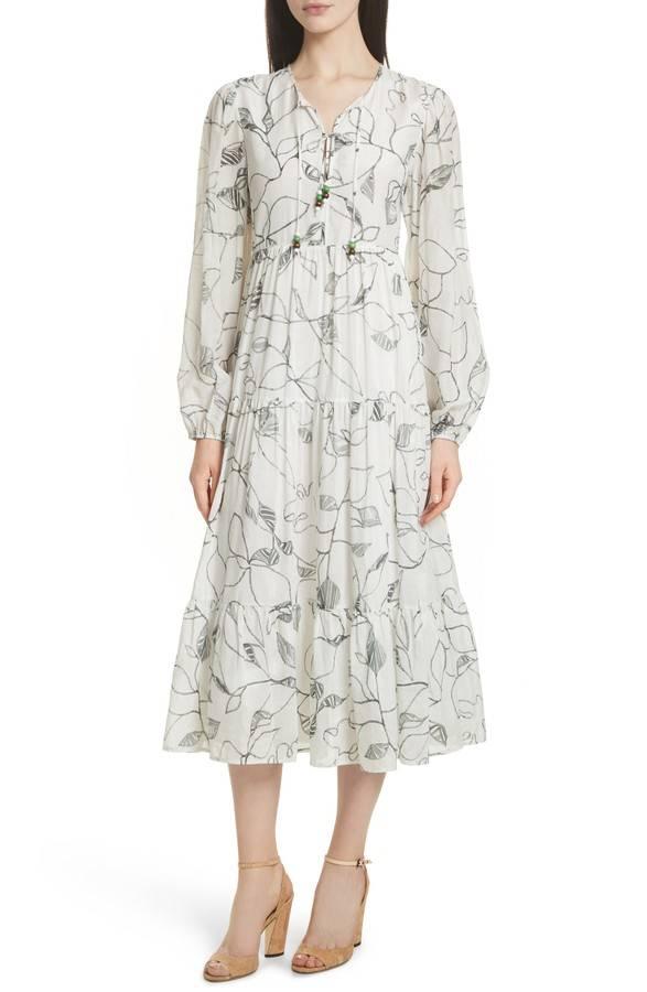 ELIZABETH & JAMES GWENDOLYN PEASANT DRESS