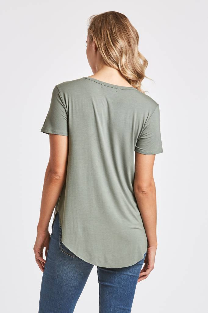 ANOTHER LOVE SAM POCKET TEE