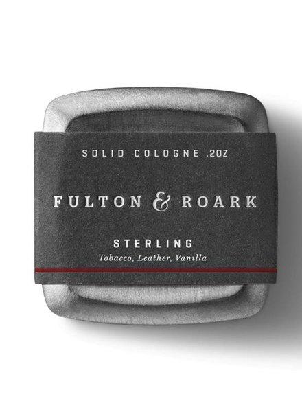 FULTON & ROARKE MEN'S SOLID COLOGNE STERLING