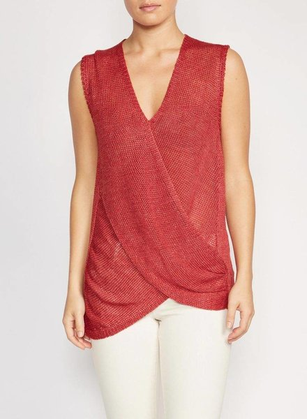 BROCHU WALKER RHAIN WRAP TOP