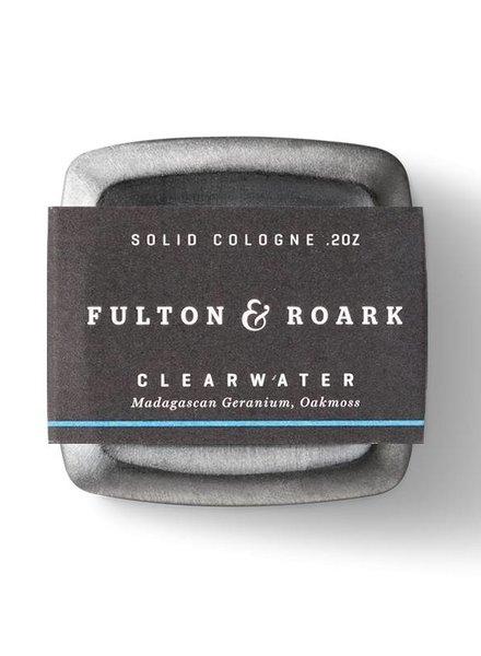FULTON & ROARKE MEN'S SOLID COLOGNE CLEARWATER