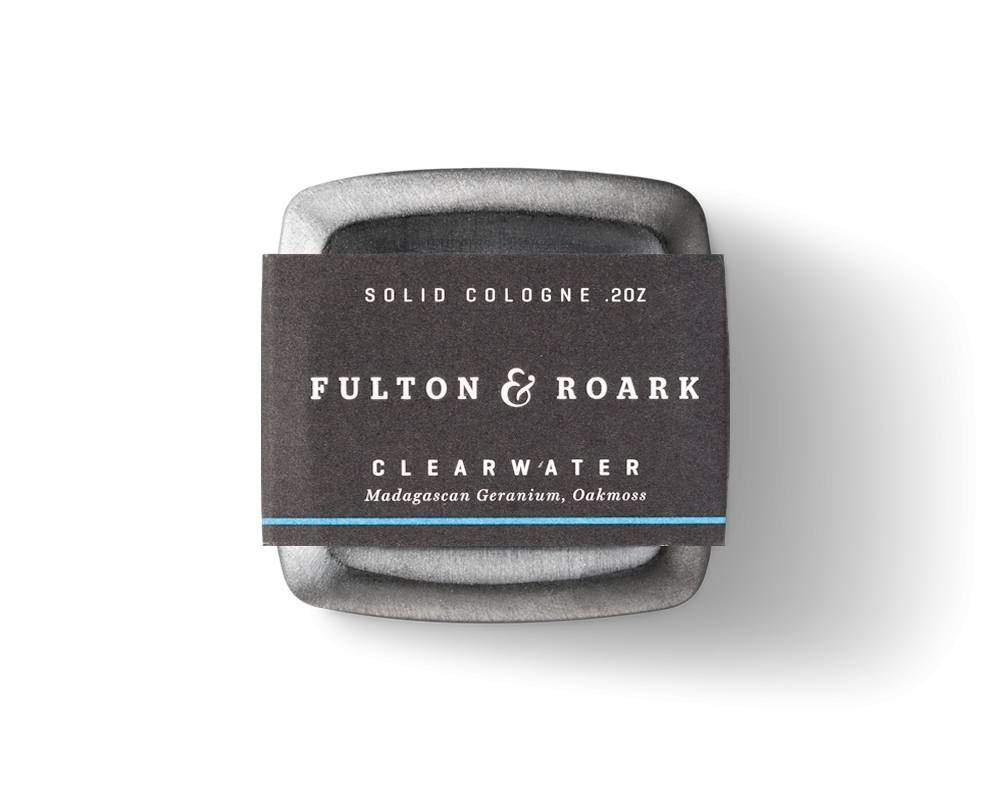 FULTON & ROARKE MEN'S SOLID COLOGNE CLEARWATER