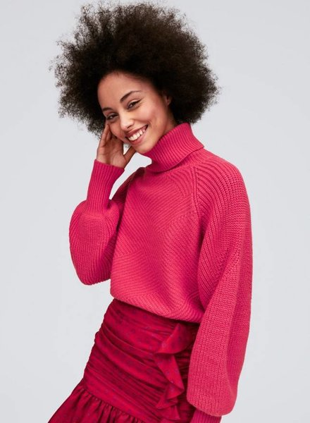 Tara Jarmon FULL SLEEVE TURTLENECK SWEATER