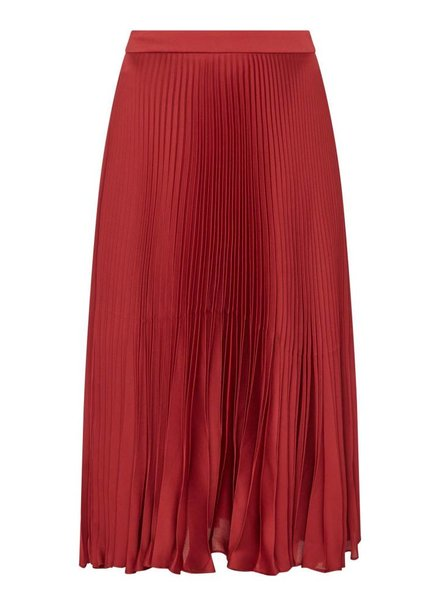 Tara Jarmon SILK PLEATED SKIRT