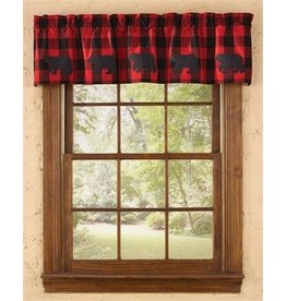 PARK DESIGNS BUFFALO CHECK BEAR VAL 58x14