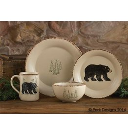 PARK DESIGNS RUSTIC RETREAT MUG BEAR