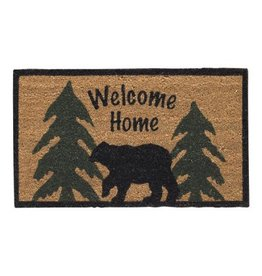 PARK DESIGNS WELCOME HOME BLACK BEAR DRMAT