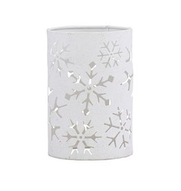 PARK DESIGNS FALLING SNOW CANDLE SLEEVES