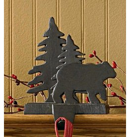 PARK DESIGNS BEAR/TREE STOCKING HANGER