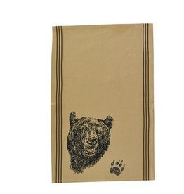 PARK DESIGNS BLK BEAR PRINTED D/T