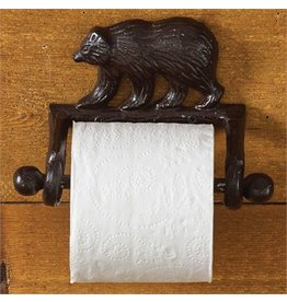 PARK DESIGNS CAST BLACK BEAR TOILET TISSUE