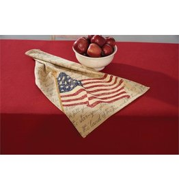 PARK DESIGNS PRINTED FLAG DISHTOWEL