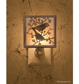 PARK DESIGNS BACKYARD BIRDS NIGHT LIGHT