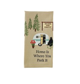 PARK DESIGNS WHERE YOU PARK IT TOWEL