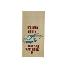 PARK DESIGNS BEER THIRTY EMB DT