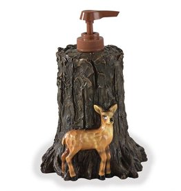 PARK DESIGNS WOODLAND  BATH DISPENSER