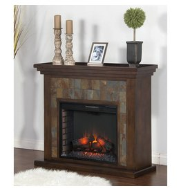 "SUNNY DESIGNS Santa Fe Fireplace Media Console(28""FB)"