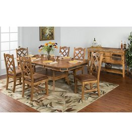 SUNNY DESIGNS Sedona Ext. Table w/ Double Butterfly Leaf
