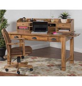 SUNNY DESIGNS Sedona Laptop Desk-Hutch