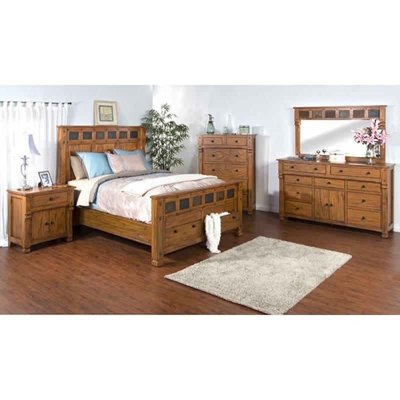 SUNNY DESIGNS Sedona Queen Bed
