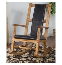 SUNNY DESIGNS Sedona Rocker w/ Cushion Seat & Back
