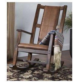 SUNNY DESIGNS Santa Fe Rocker w/ Cushion Seat & Back