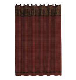 HIEND CASCADE LODGE SHOWR CURTAIN, 72X72